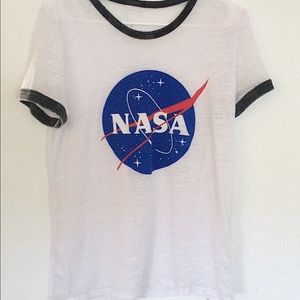 Women's Freeze White NASA t-shirt 💫
